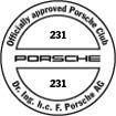 Officially approved Porsche Club 231